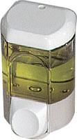 Genopfyldelig dispenser til flydende sæbe 350ml