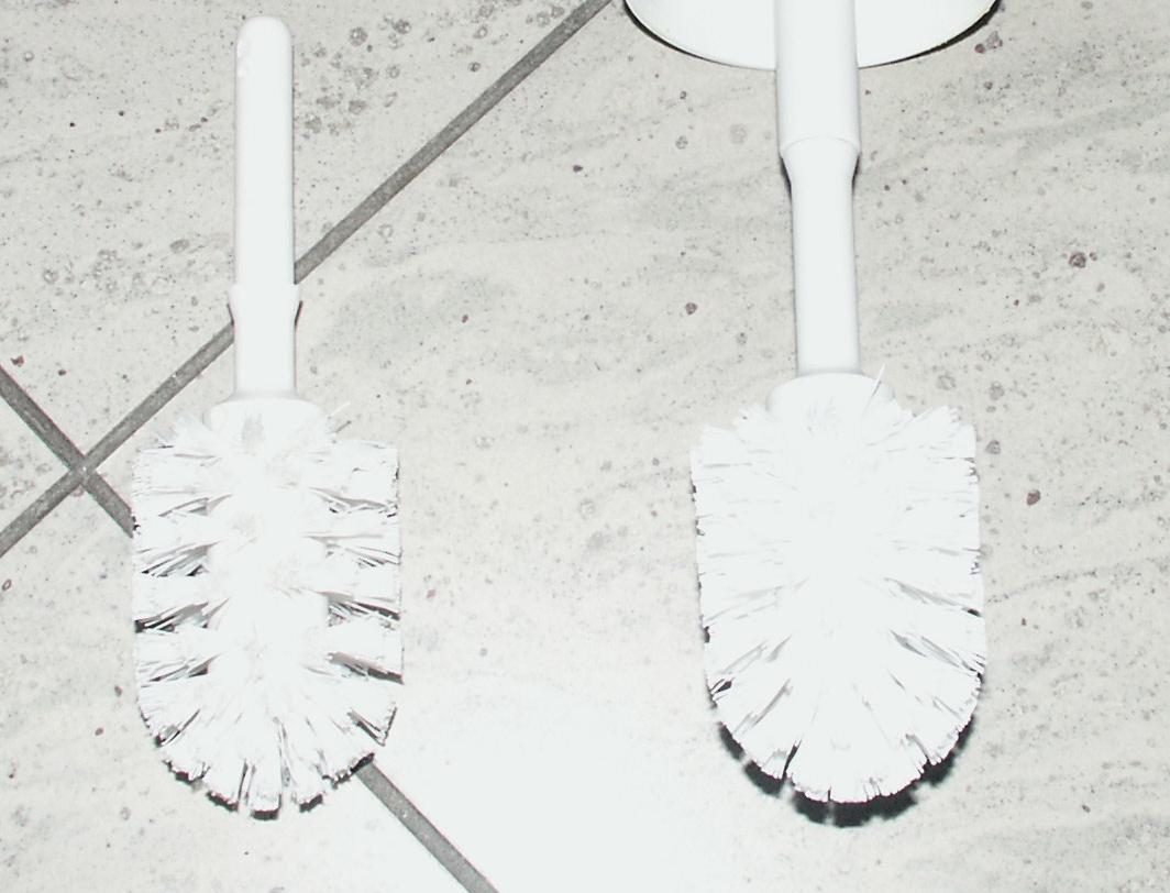 Toiletbørste uden holder sorte