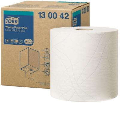 Tork Aftørringspapir Plus 2lag W1/W2/W3 Industri
