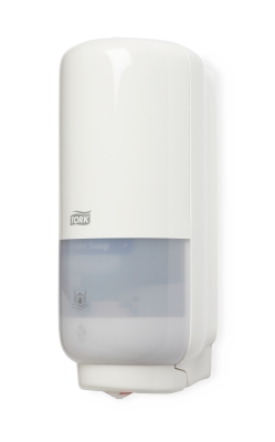 Tork Dispenser S4 Sensor Touchfree Hvid