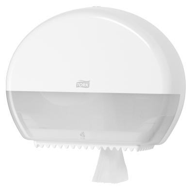 Tork Dispenser til Toiletpapir T2 Hvid Twin