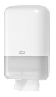 Tork Dispenser til Toiletpapir Ark T3 Hvid