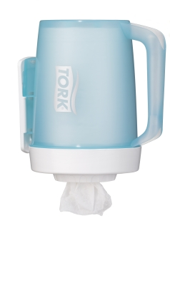 Tork Transportabel Mini Dispenser Hvid/Turkis M1