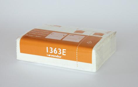 Vendor 2 lags papir 33m