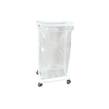 Affaldsstativ uden låg 100 ltr sække Hvid
