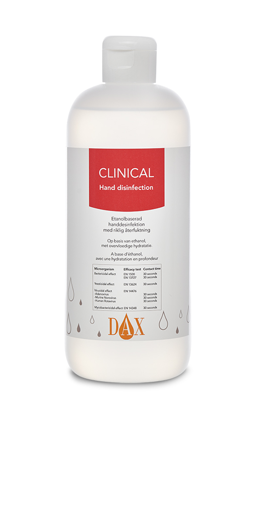 DAX Clinical Hånddesinfektion 500 ml