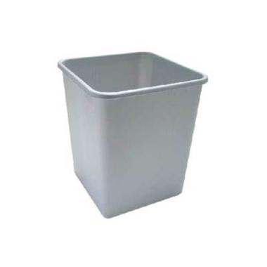 Papirkurv 25 ltr grå firkantet