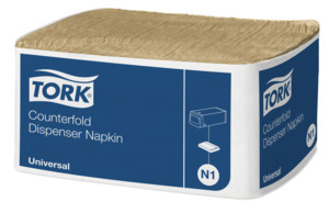 Tork Counterfold Dispenserserviet N1 Natur