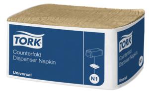 Tork Counterfold Dispenserserviet N1 Natur