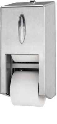 Tork Dispenser Mid-size Twin Toiletpapir uden hylse