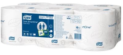 Tork SmartOne Toiletpapir Hvid T8